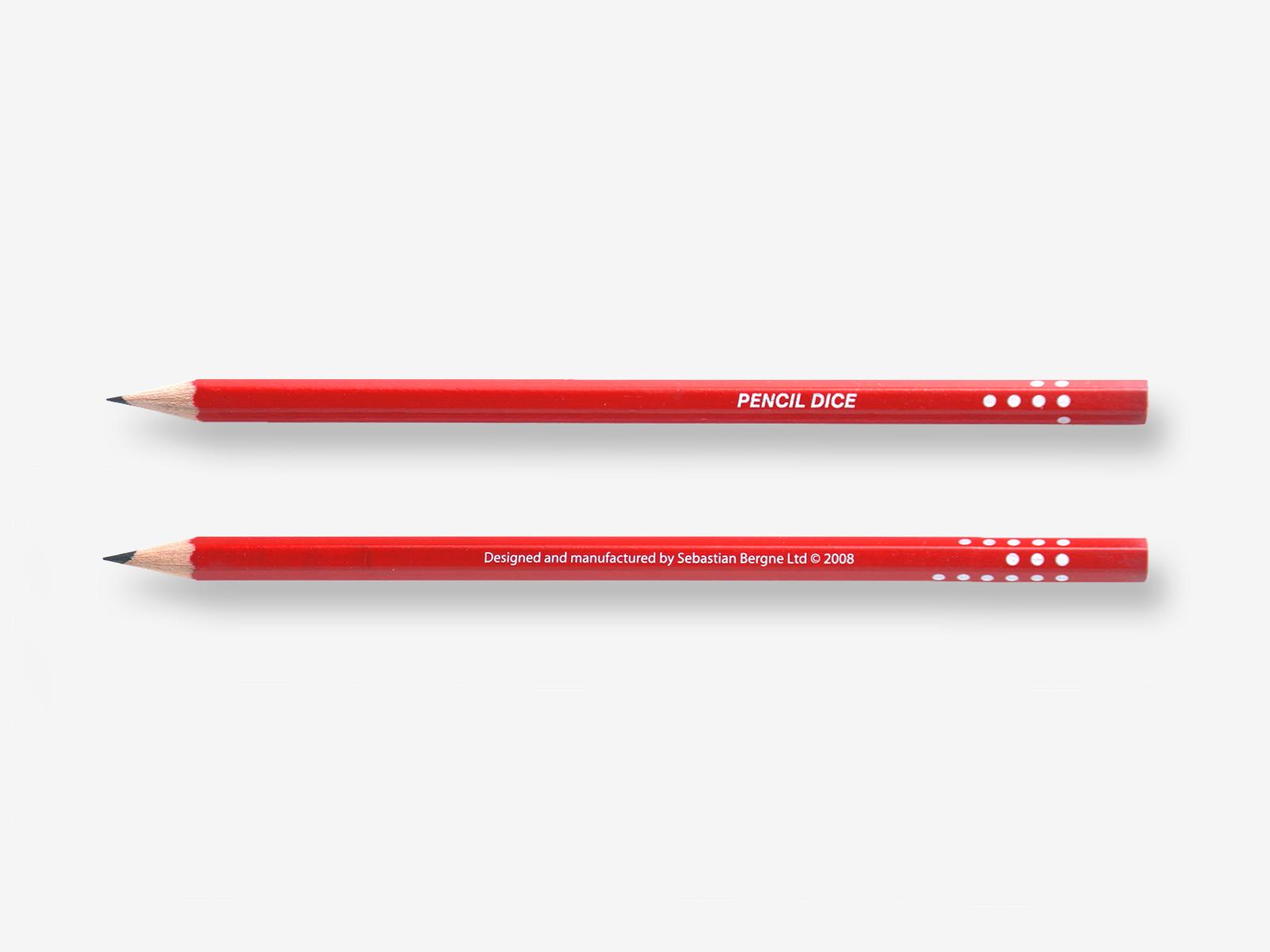 Pencil Dice | sebastianbergne.com