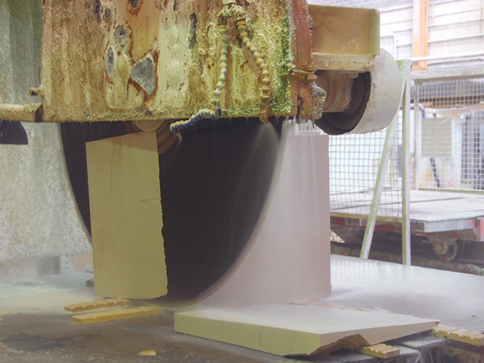 Making the Marcel wine storage monolith