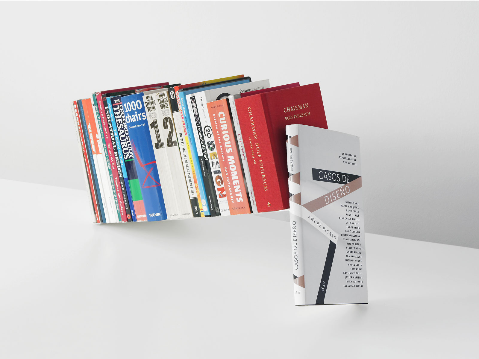Fiction book stand
