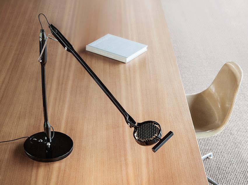 Tivedo task lamp by Sebastian Bergne for Luceplan