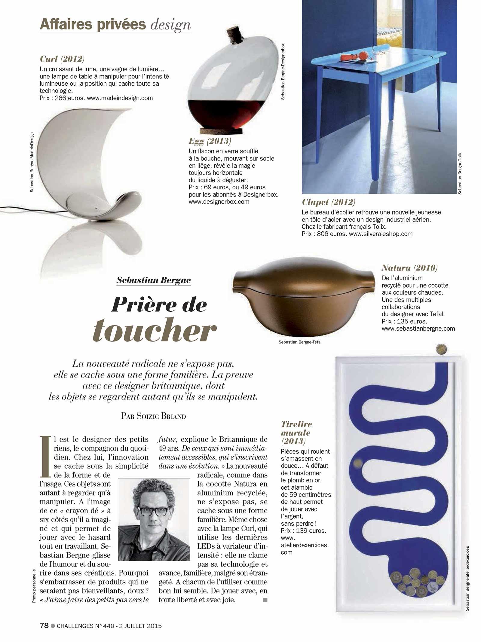 Profile In Challenges Issue 440 Sebastianbergne Com